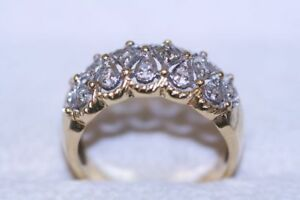 Vintage 14K Yellow Gold Round Cut Diamond Ring - Professional Appraisal: $2,275
