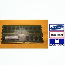 MEMORY SAMSUNG 1GB  PC2-5300U DESKTOP PC DDR2 1RX8 M378T2863QZS-CE6