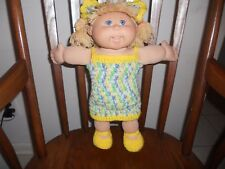 Crochet Cabbage Patch Doll Clothes~~Private listing for Sew36
