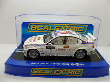 Scalextric C2714 BMW 320i WTCC, A.Priaulx No.1, mint boxed unused