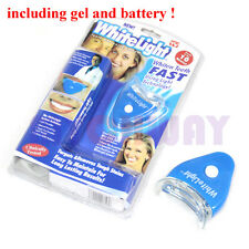 Teeth Whitening Tooth Cleaning Blue Light Teeth Care Dental White & Bright Oral