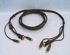 BELKIN  F3X1835-10 OmniView All-In-One Gold PS/2, VGA  KVM Cable, 10 ft