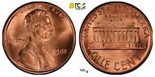 1988 Wide AM penny pcgs ms67