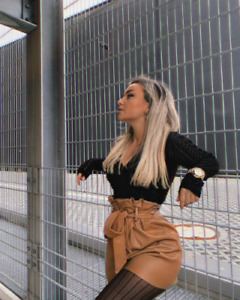 Zara FAUX LEATHER PAPERBAG BERMUDA SHORTS size M