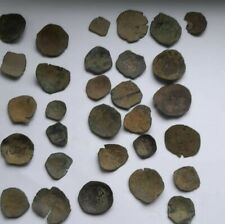 LOT OF 30 ANCIENT BYZANTINE COINS 1000-1200 AD