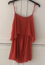 Topshop Dress Open Back Size 10
