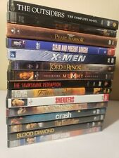 Thriller Drama Dvd Lot of 15 w/ cases and art Godfather Shawshank Mummy Chicago