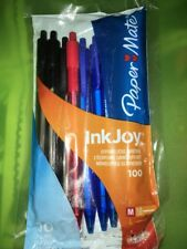 Paper Mate Inkjoy 100 Pens. 1 Pack Of 10 Pens.  New