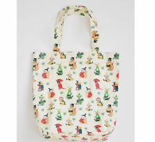 Moomin Tote Bag 50's Pattern Waxed Cotton 39 x 39 cm Optodesign