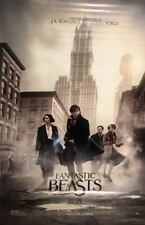 FANTASTIC BEASTS AND WHERE TO FIND THEM Movie Banner/Poster, Vinyl - 8ft x 5ft.