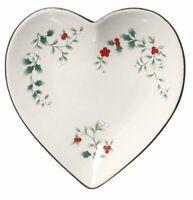 Pfaltzgraff Winterberry Heart Shaped Dish