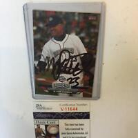 2011 Ryne Sandberg Signed Autographed Baseball Card With JSA COA