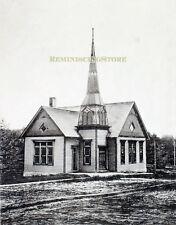 "Pawnee City NE ""Second United Presbyterian Church"" © 1900 Reprint Vintage Photo"