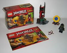 2516 LEGO Ninja Training Outpost 100% Complete w box & Instructions EX COND 2011