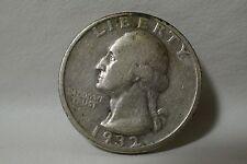 KEY DATE 1932-S 25C Washington Quarter