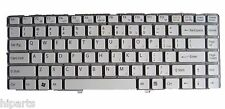 White Laptop Keyboard For SONY Vaio VGN-NW250F/S VGN-NW238F VGN-NW125J US Seller