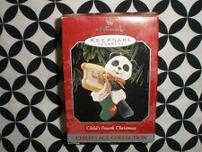 1998 Hallmark Keepsake Ornament, Child'S Fourth Christmas T128