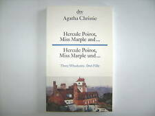 AGATHA CHRISTIE HERCULE POIROT MISS MARPLE AND 3 FÄLLE