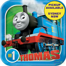 THOMAS THE TANK ENGINE PARTY SUPPLIES 8 SMALL PAPER BIRTHDAY DESSERT PLATES