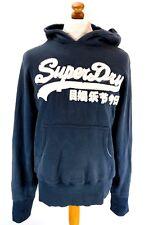 Camisa de hombre puente hoodie M Mediano Azul Algodón