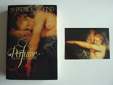 Perfume by Patrick Süskind 1st/1st HC DJ with Post Card