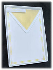 Boxed Hallmark Signature Gold Foil Lined Stationery Sheets Envelopes 15 Sets NEW