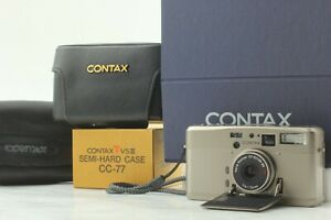 【TOP MINT in Case】 Contax TVS III 35mm Point & Shoot Film Camera from JAPAN #821