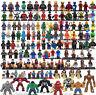 Marvel DC Comic Super Heroes  Avengers Star Wars Ninjago Mini figures FITS LEGO