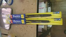 "2 New Michelin High Performance Beam Wiper Blades 22"" 20"" - EZ-Lock"