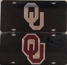 Oklahoma University Sooners License Plate