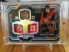 2016-17 BLACK DIAMOND DAVE ANDREYCHUK LUSTROUS INK AUTO 023 /125 JERSEY NUMBER