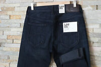 NEW LEE 101S SLIM JEANS SELVEDGE DENIM Luke/Powell //RRP120£/ L32/L34  ALL SIZES