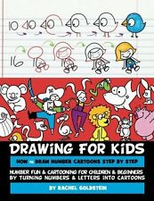 Drawing for Kids How to Draw Number Cartoons Children Beginners Books Paperback