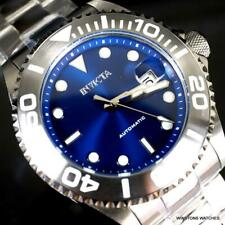 Invicta Pro Diver Automatic Blue Stainless Steel Bracelet Watch 47mm New