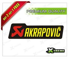 XTREME-in AKRAPOVIC REFLECTIVE STICKER FOR CAR, BIKE, DOOR,GLOSS (4 inch)