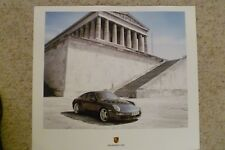 2006 Porsche Carrera Coupe Showroom Advertising Sales Poster RARE!! Awesome L@@K