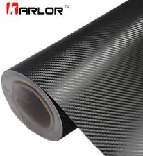 Rollo de fibra de carbono negro 3D