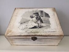 Large wooden jewellery Boxes handmade Box Gift Vintage,decoupage