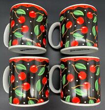 4 Sakura Mary Engelbreit Cherries Mugs