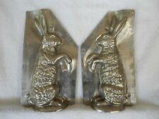 Chocolate Mold Rabbit Standing, Paws Out Collectible Antique Vintage