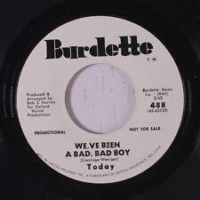 TODAY: We've Been A Bad Bad Boy / That's What I'm For 45 (dj) Rock & Pop