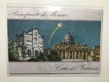 2017 Folder UFN Vatican Vaticano Principato Monaco Congiunta Christmas Natale