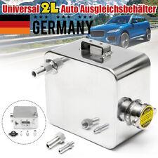 Universal 2L Auto Ausgleichsbehälter Kühlmittelbehälter Aluminium + Kappe DE