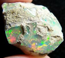 Ethiopian Opal Welo Rough * SEE VIDEO 30.54 CTs Bright 5/5 AAA Fire USA DEALER
