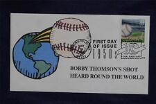 Celebrate the Century Bobby Thompson HR FDC HandColored S + D Sc#3187c BT6