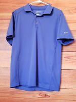 Nike Golf Tour Performance Dri Fit Polo Shirt Purple Mens Small S