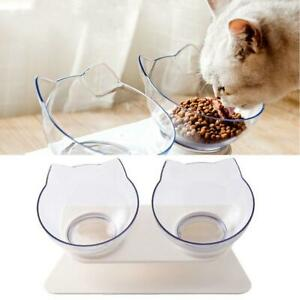 Anti-Vomiting Orthopedic Pet Cat Bowl Dog Protect Cervical new Bowl Holder UK