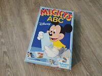 Micky Maus ABC Disney Schmidt Spiele Brettspiel Kinderspiel Vintage Retro Kult