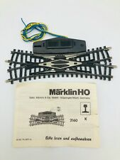 Marklin HO 2160 K Track Double Slip Switch