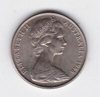 1968 Australia 10 Ten Cent Coin  C-312